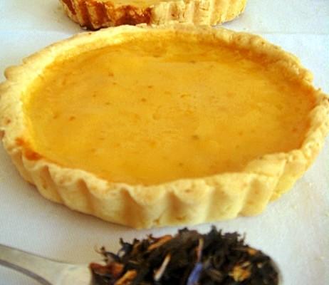 crostatine di crema di arancia senza glutine