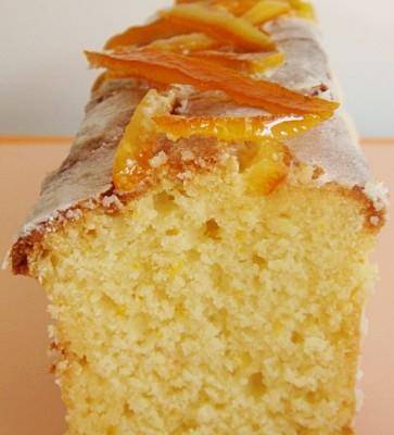torta ricotta e arancia senza glutine