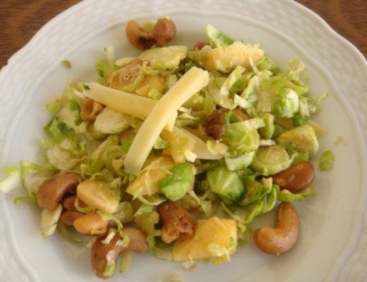 insalata di cavoletti di Bruxelles