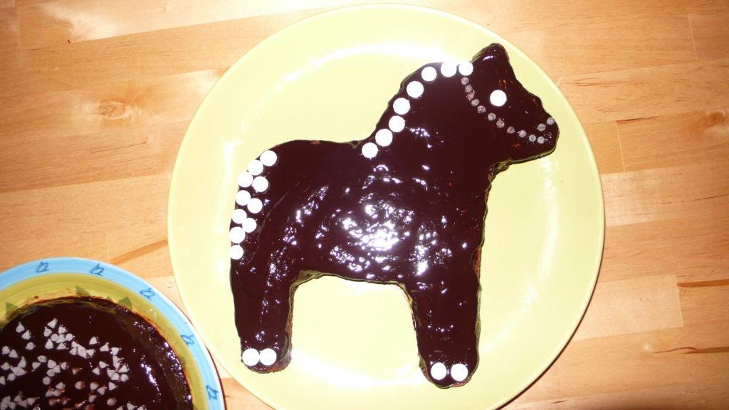 torta senza glutine di cioccolato e nocciole