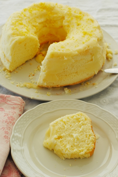 chiffon cake senza glutine pic