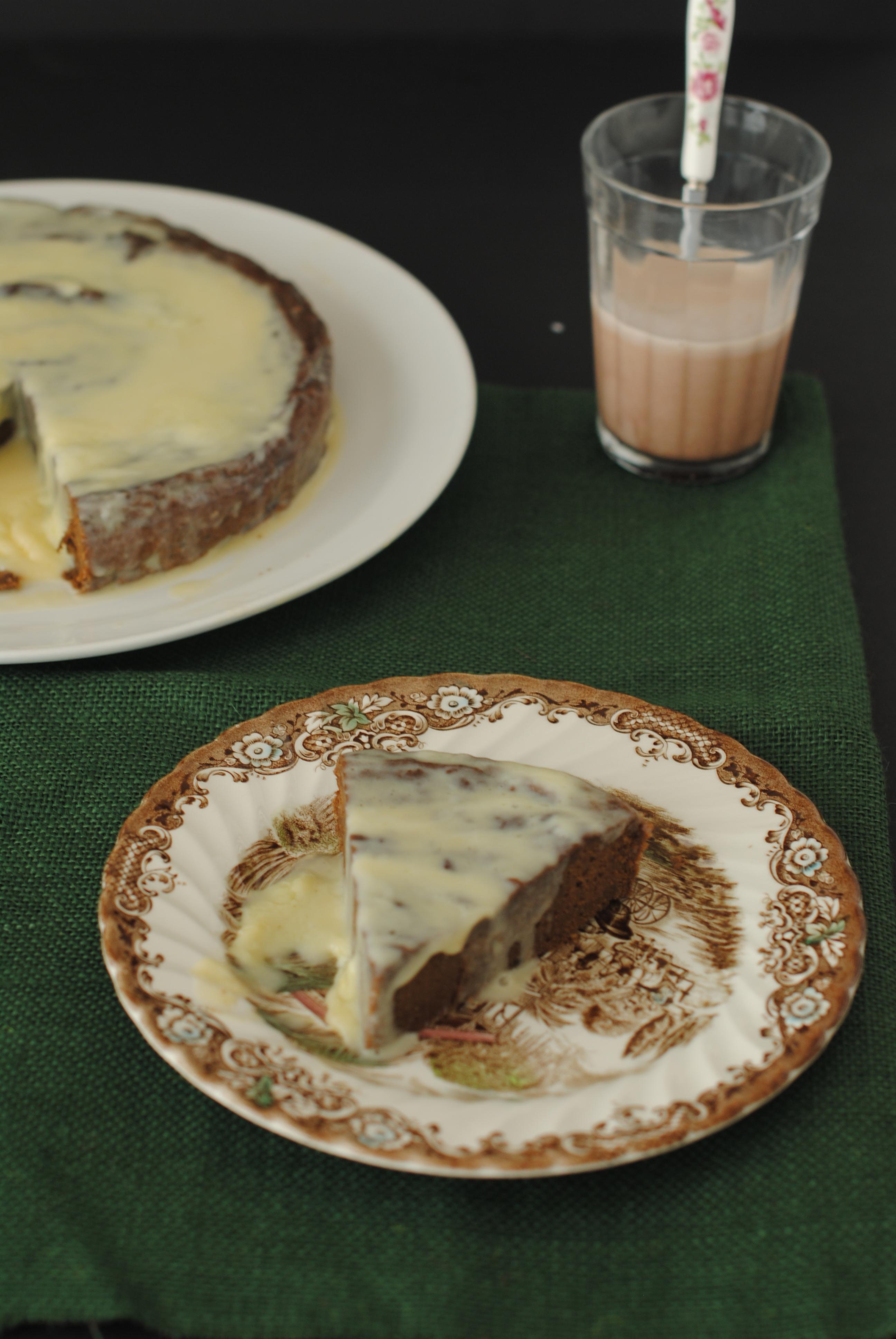 Torta de batata y chocolate
