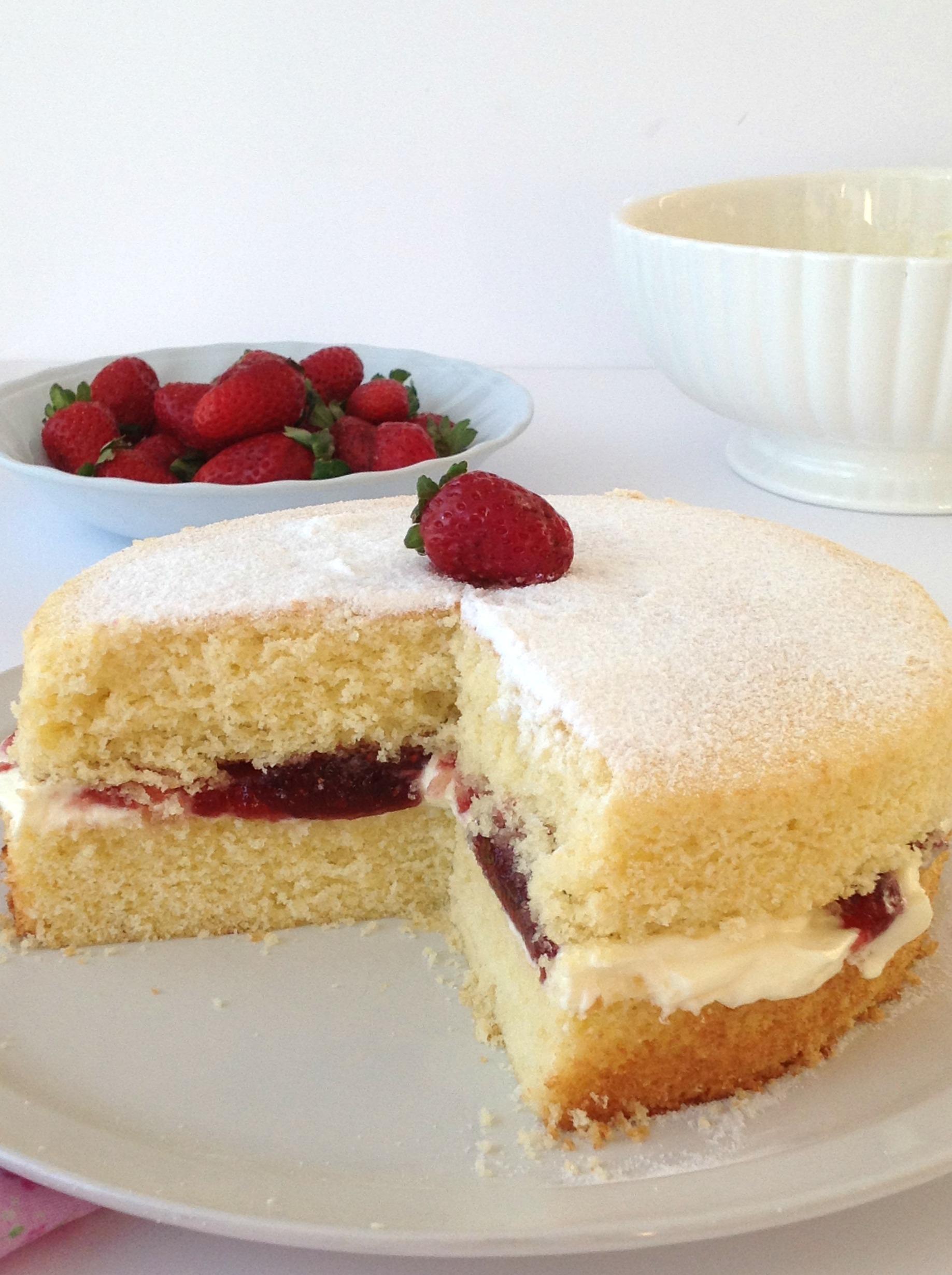 Victoria Sandwich senza glutine ricetta