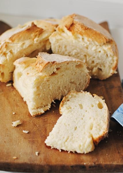 Pane senza glutine in pyrex