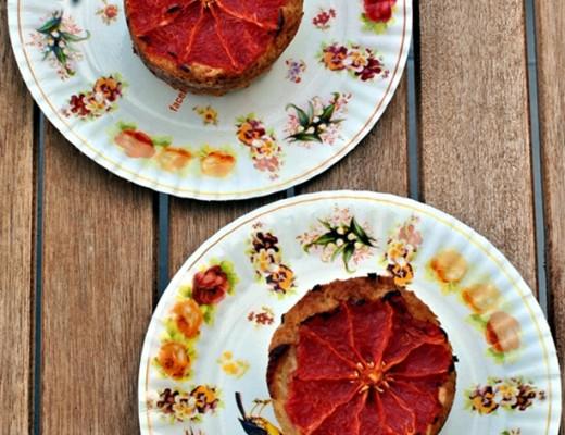 Muffin senza glutine al pompelmo 2 pic