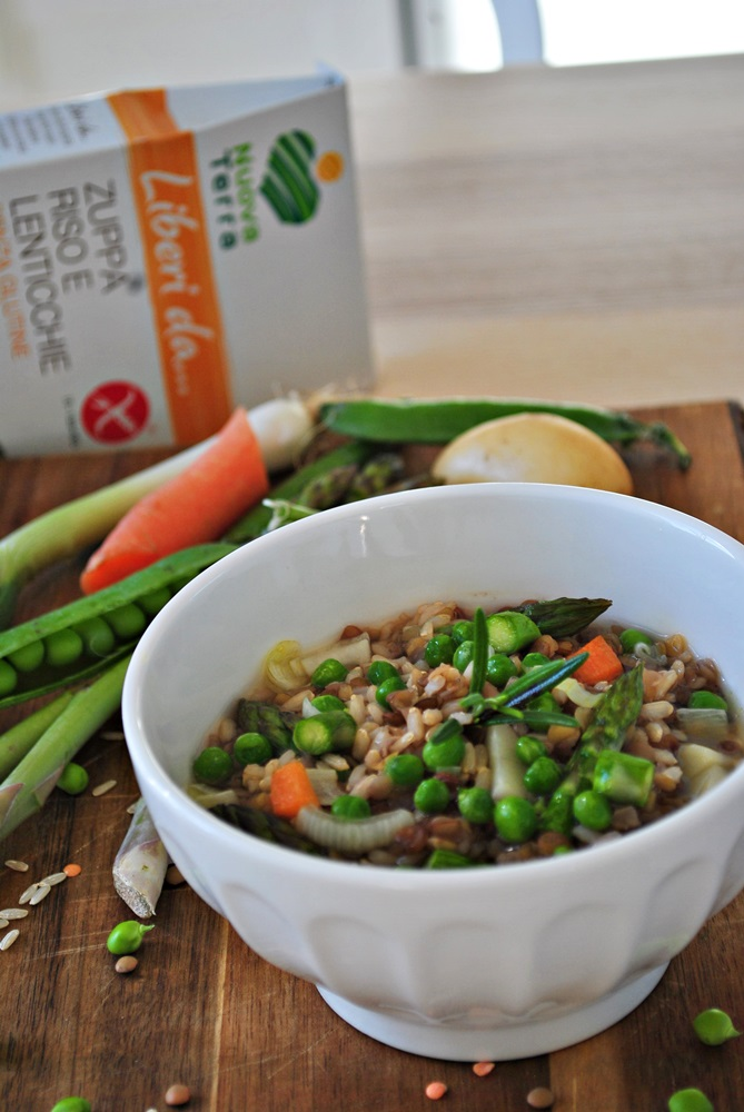 zuppa primavera senza glutine 3