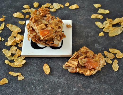 barrette con corn flakes senza glutine