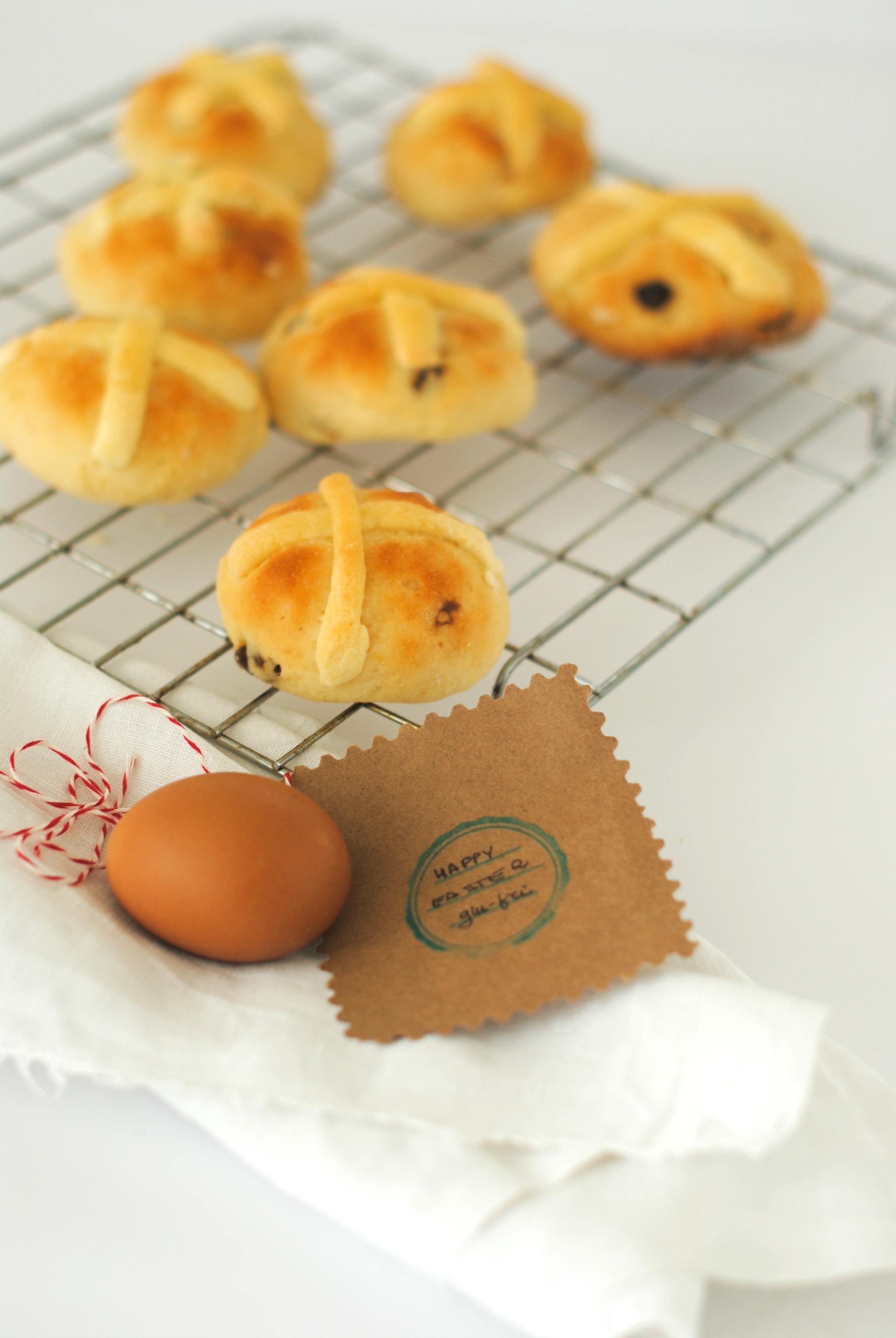Hot cross buns senza glutine