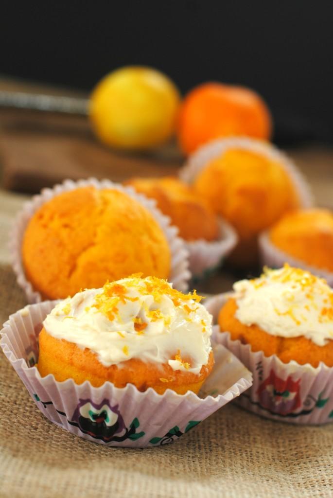 Cupcake di zucca senza glutine