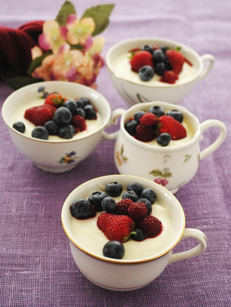 crema di yogurt