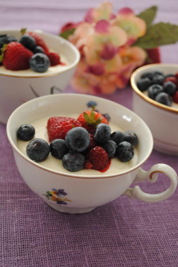 crema di yogurt senza glutine