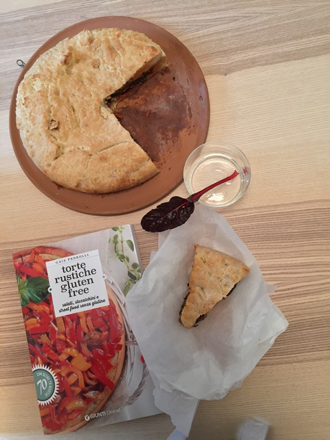 Torta salata senza glutine alle bietole v1
