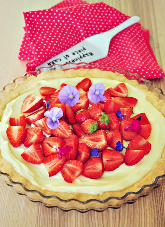 crostata mascarpone e fragole 1